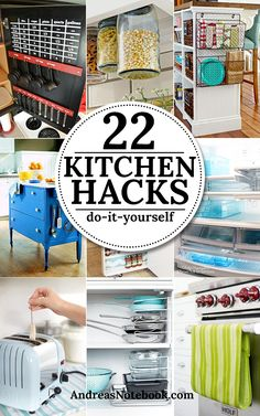 22 DIY Kitchen Hacks