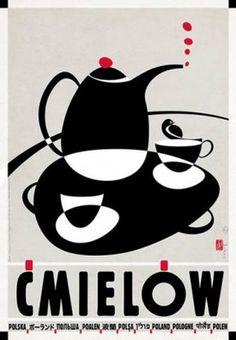 Plakat POLSKA ĆMIELÓW Ryszard Kaja