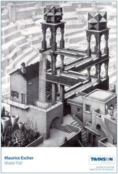 Escher - Water fall #escher #twinson #deceuninck