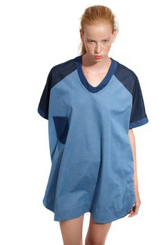 Denim Oversized T