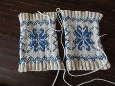 Colour-Work Knitting