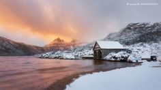 Dove Lake in Tasmania, Australia by Dylan Toh & Marianne Lim Wonderful Picture, Places Of Interest, Iceland Travel, Tasmania, Day Trip, Pacific Northwest, Travel Usa, Winter Wonderland, Landscape Photography