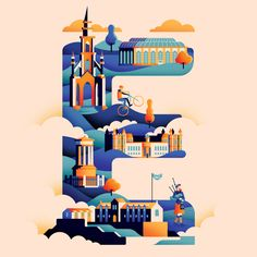 I love travel, illustration and type so mixing all three seemed like a great…