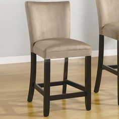 Bloomfield 24 Inch Barstool Taupe Set Of 2 Furniture Counter Height Chairs Coaster Furniture