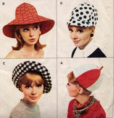 It s a total and absolute 1960s London Carnaby Street hat. Wear it straight  on your head 7d299ac6877