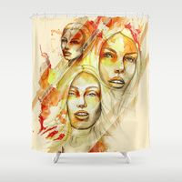Shower Curtains by Carographic, Carolyn Mielke Illustration | Society6