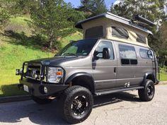 New Stock Vans + Sprinter + Transit + ProMaster - Sportsmobile West Custom Camper Vans, Custom Campers, Custom Vans, 4x4 Camper Van, Off Road Camper, Camper Life, Ford Transit, Mk1, Van Conversion Campervan