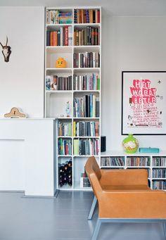 DIY #closet #storage #fireplace - Zelfmaakidee: Ombouwkast rond schouw Kijk op www.101woonideeen.nl