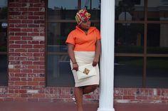 1950'S Vintage Inspired Crop Top + Side Pleated Skirt