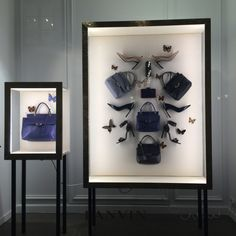 "LANVIN,Paris,France, Cabinet of Curiosity: ""Handbags,High Heels,Jewellery...the girl's Wonder-Room"", photo by The Window Lover, pinned by Ton van der Veer"