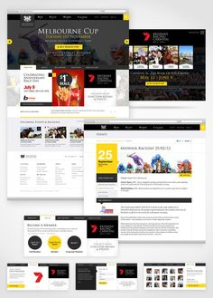Web / BRC Website on Behance — Designspiration