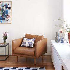Melbourne Home · Bill and Christine McCorkell and Family (The Design Files) Living Room Grey, Living Room Chairs, Home And Living, Cosy Corner, Melbourne House, The Design Files, Australia Living, Soft Furnishings, Decoration