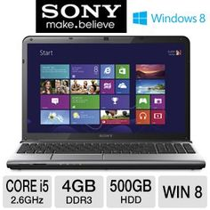 "*BONUS DEAL* Sony VAIO 15.5"" Core i5 500GB HDD Laptop - $604.99 | eSalesInfo.com"