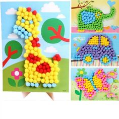 Beautiful 3d Eva Diy Flower Cap Enviromental-friendly Handmade Craft Educational Early Puzzle Hat Toys Gift For Children Kid Baby Girl Boy Clear And Distinctive Model Building Kits