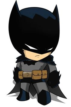 Even in chibi form, he maintains his cool ...