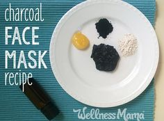 DIY Charcoal Face Mask Recipe (Only 3 Ingredients!)