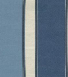 Home Decor Print Fabric-Better Homes & Gardens Matheo Navy: home decor fabric: fabric: Shop | Joann.com