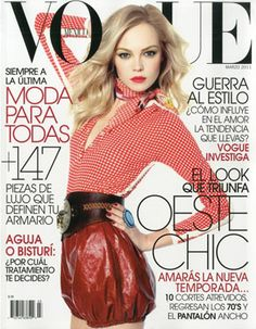 Vogue Mexico March 2011 - Siri Tollerod