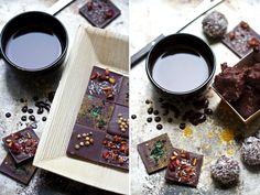 Saveurs Végétales: ★ Je réalise mes petits chocolats crus ★