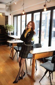 Korean Women`s Fashion Shopping Mall, Styleonme. Fashion Models, Fashion Outfits, Womens Fashion, Asian Woman, Asian Girl, Chinese Model, Korean Women, Tight Dresses, Asian Fashion