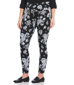 ea950f43aa0bf Shop for Intro Plus Size Teri Love the Fit Floral Print Leggings at Dillards .com