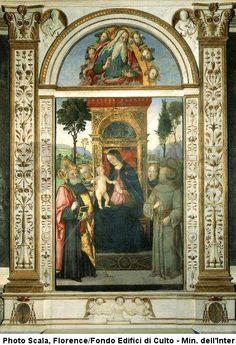 Pinturicchio - Santa Maria del Popolo, Rome
