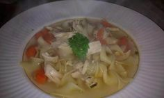 Savory Chicken Noodle Soup #justapinchrecipes