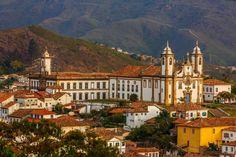 Ouro Preto, em Minas Gerais, um dos destinos recomendados para abril (foto: Embratur/Divulgação) - Fornecido por Viagem em Pauta