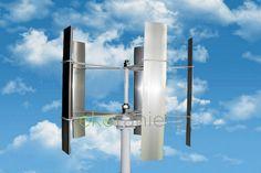 Turbina wiatrowa 45W o pionowej osi obrotu