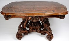 Buy online, view images and see past prices for Century French Carved Wood Center Table. Invaluable is the world's largest marketplace for art, antiques, and collectibles. Center Table Living Room, Table 19, State Of Florida, Small Furniture, Carved Wood, 19th Century, Auction, Carving, French