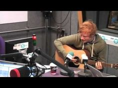 """This feels like falling in love""  - Ed Sheeran performs 'Kiss Me' [acoustic]"