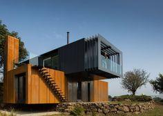 unique lavish container home