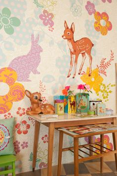 shooka store- deer wallpaper