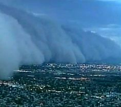 Phoenix, Arizona was home to more than one large haboob (dust storm) in 2011