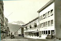 Nordland fylke Narvik Dronningensgate 1950-tallet utg Aune