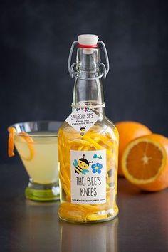 Orange-Infused Gin More