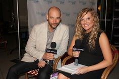Kevin McMahon, Abigail Fraher, Breaking Glass Pictures Mixer, Indyoh Lounge, AFM 2014