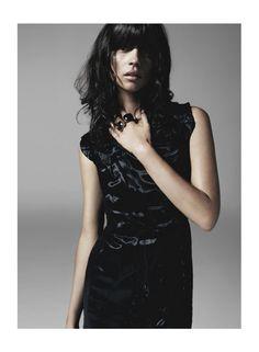 Bottega Veneta (Dark Nights: Egle Tvirbutaite By Frederic Pinet For Uk Marie Claire December 2013) #fringe