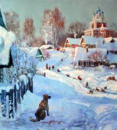 Painting by Vladimir Zhdanov