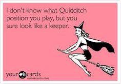 Valentine's Day Quidditch Keeper