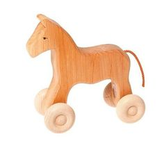 Grimm's Natural Horse Large - little whimsy - 1