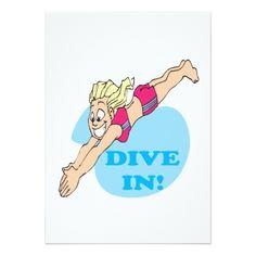 Dive In Card