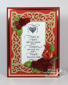 Quietfire Creations: Have a heart....