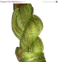Christmas Sale Handspun hand dyed DK 2ply  by SussesSpindehjrne, $32.85