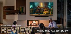 Review: VIZIO's M80-C3 80-inch affordable 4K Ultra HD Smart TV #review #vizio http://pocinc.net/blog/product-reviews/review-vizios-m80-c3-80-inch-affordable-4k-ultra-hd-smart-tv