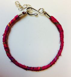 Recycled Sari Knotted Bracelets