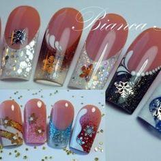 bianca friedrich nails | ... abstrait… Inspiration Bianca Friedrich . Aleenails Art