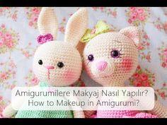Amigurumide Oyuncakların Yanaklarına Nasıl Allık Verilir?-How to Makeup in Amigurumi Toys. - Tiny Mini Design