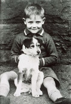 Little Sean Connery and friend
