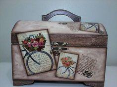 maleta pequena mdf vintage - Pesquisa Google
